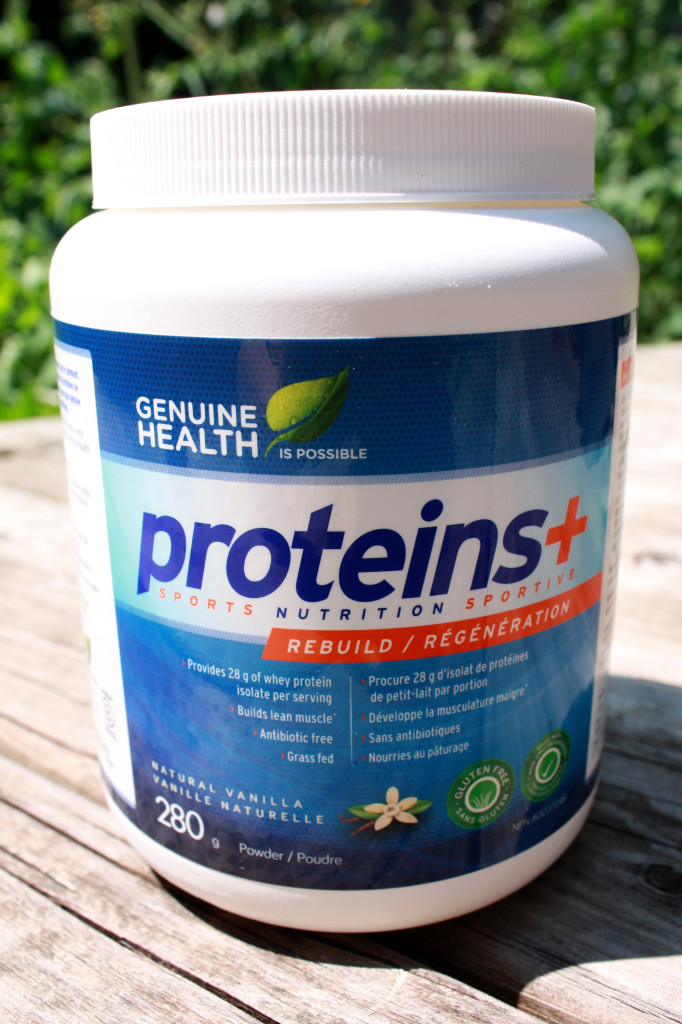 Genuine Health Proteins+ Vanilla Whey Protein Powder