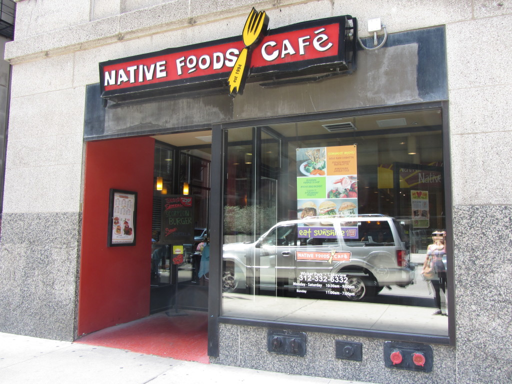 The entrance to Native Foods