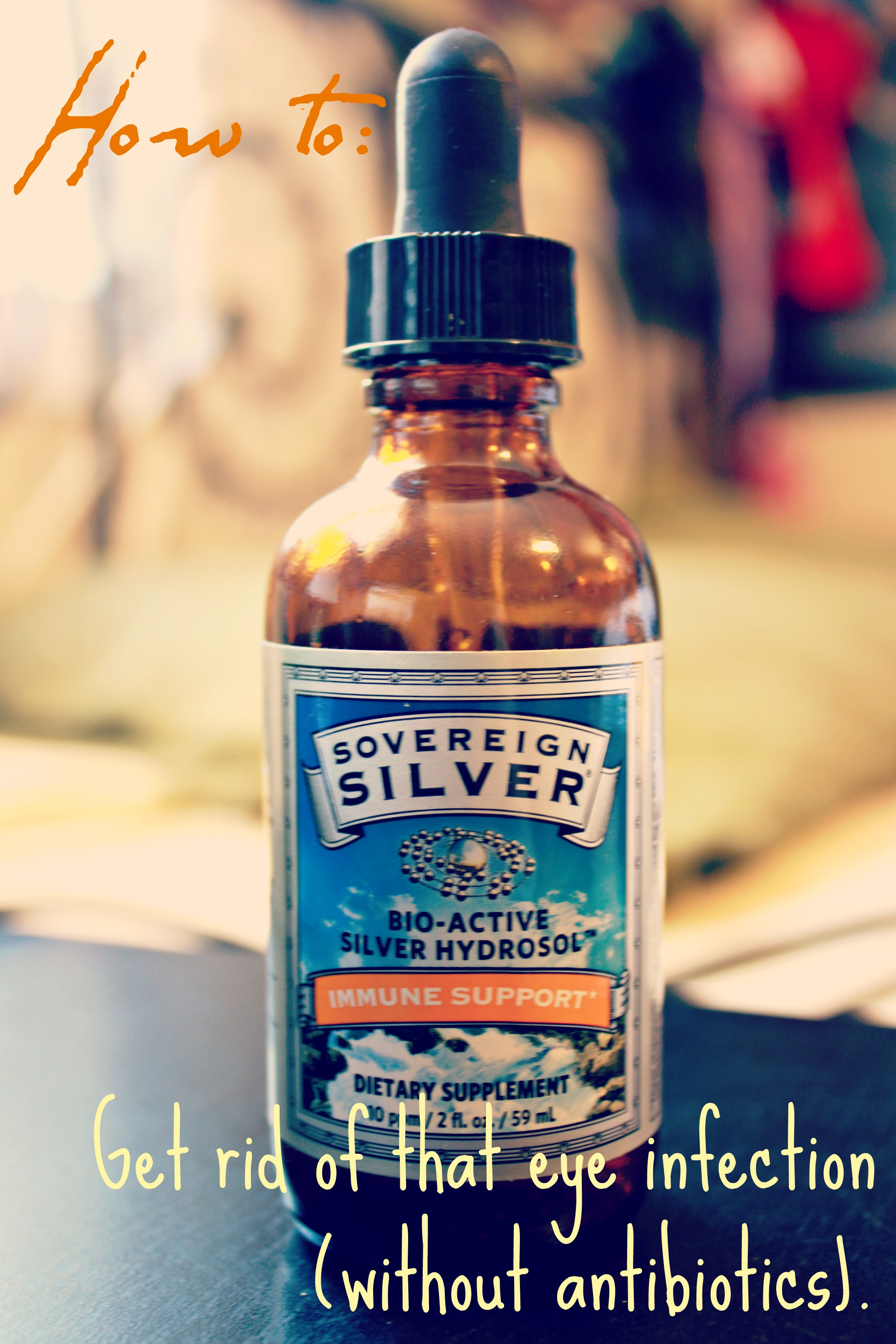 The newest addition to my holistic toolbox: colloidal silver