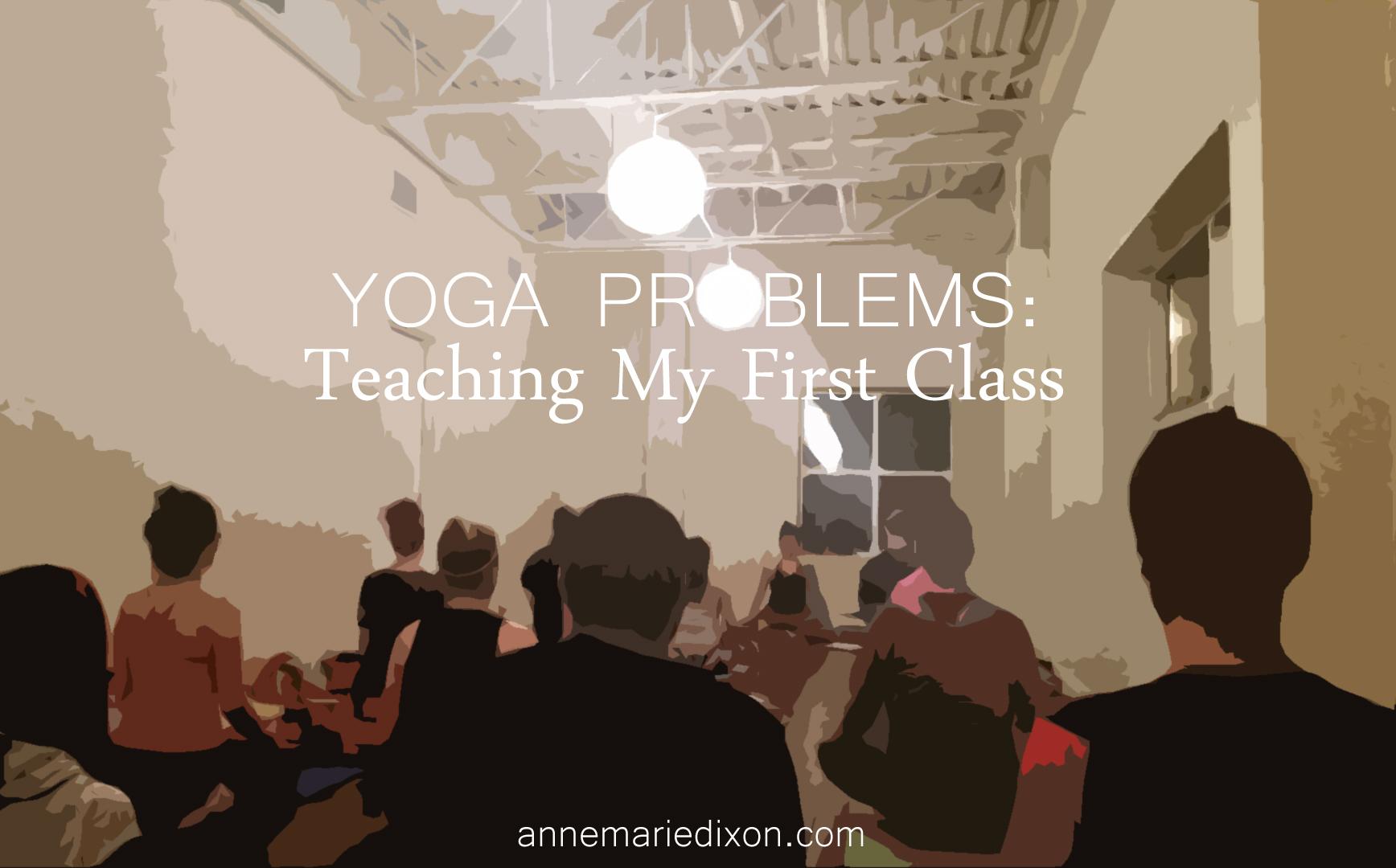 class full of yogis